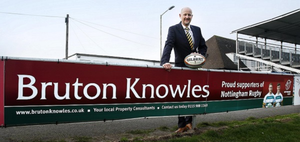Bruton Knowles Supports Nottingham Rugby Club