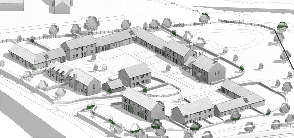 Little Tarrington site trailblazes contemporary mix of homes