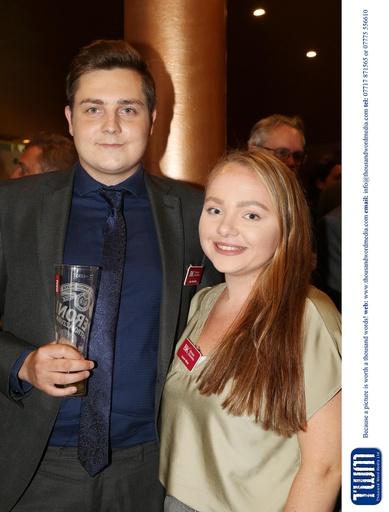 Luke Stansfield and Lauren Milner
