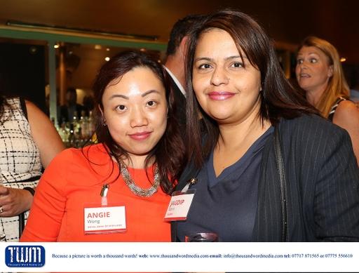 Angie Wong and Jagdip Bains