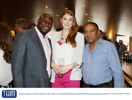 Luther Richards, May Dudley and Lord Kultar Deol
