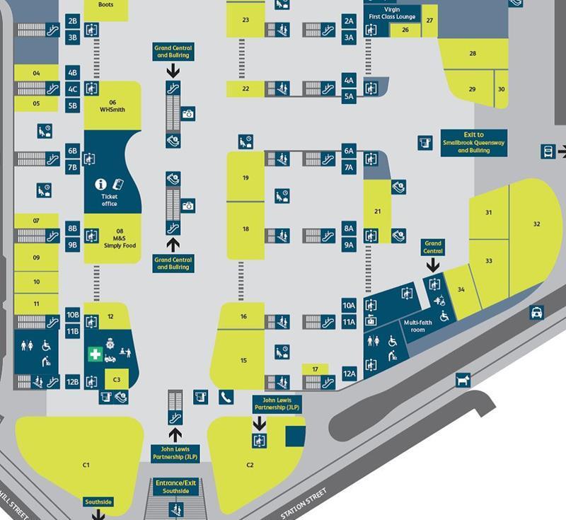 Birmingham New Street Station Map Birmingham New Street Station Map | Bedroom 2018